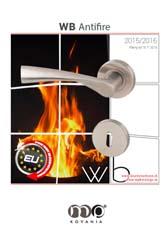 WB Antifire LineKľučky z nereze s kovovou mechanikou,majú protipožiarny certifikát.