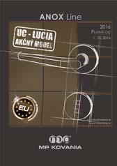 Formou tohto katalógu vám predstavujeme kľučku UC - LUCIA v rozetovom a štítovom prevedení.