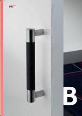 Široká ponuka dverných madiel v rôznych povrchových úpravách.