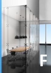 Kovania pre sklenené dvere, steny a zábradlia. V ponuke pivotové systémy, rohové pánty, bodové úchyty ai