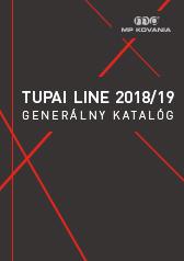 Generálny katalóg výrobkov spoločnosti TUPAI.