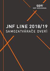 Výber dverných samozatváračov od portugalského výrobcu JNF
