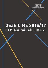 Výber dverných samozatváračov nemeckého výrobcu GEZE.