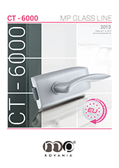 Kovanie na sklo MP CT-6000 je ideálnym riešením pre zladenie špecifických štýlových interiérov.