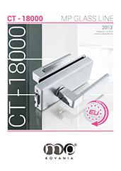 Kovanie CT–18000 od talianskeho výrobcu je vhodné na kombináciu s rôznymi hranatými kľučkami.